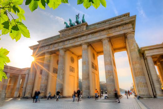 Keyvisual Brandenburger Tor, WADP Kongress 2021